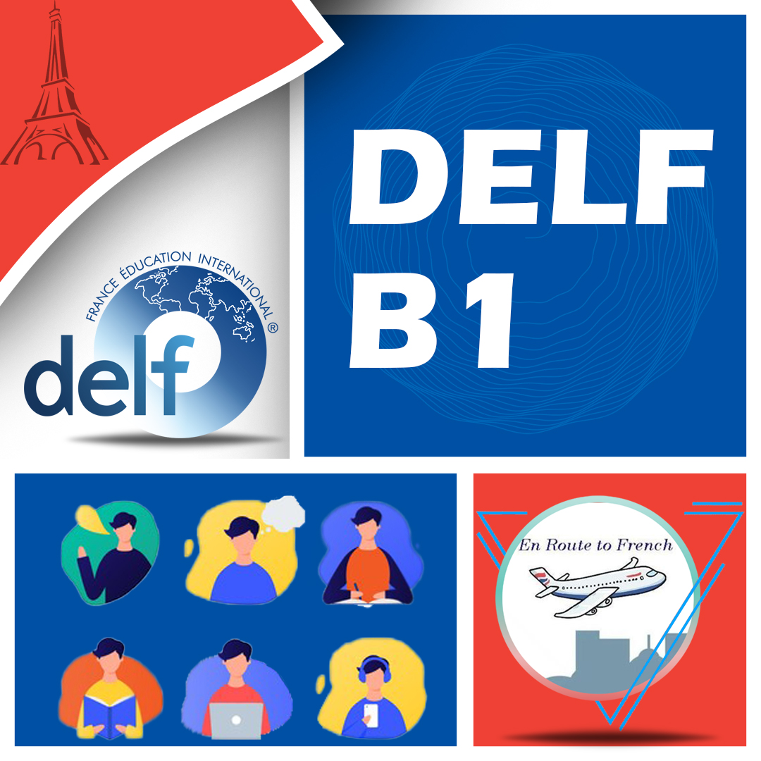 En Route to French - DELF B1 Banner