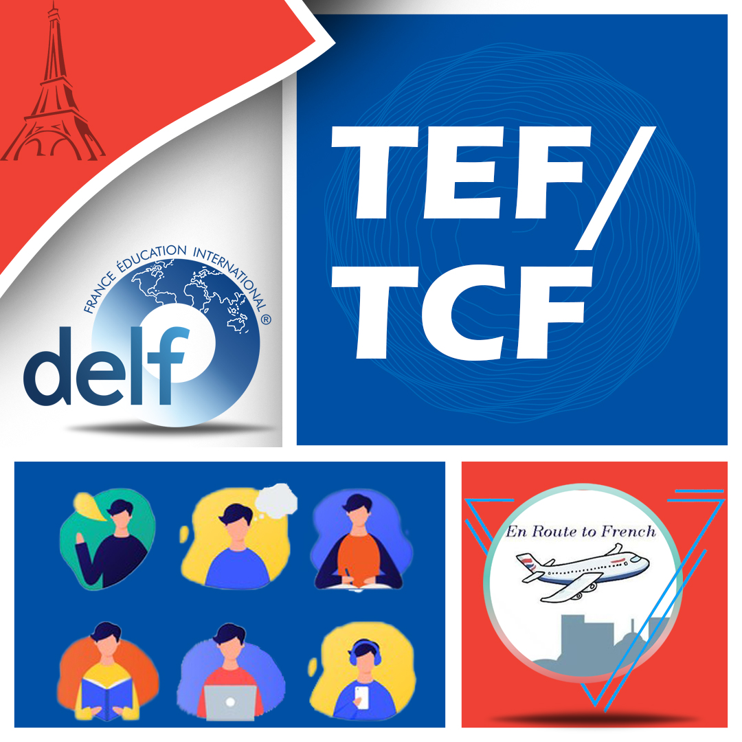En Route to French - TEF,TCF Banner