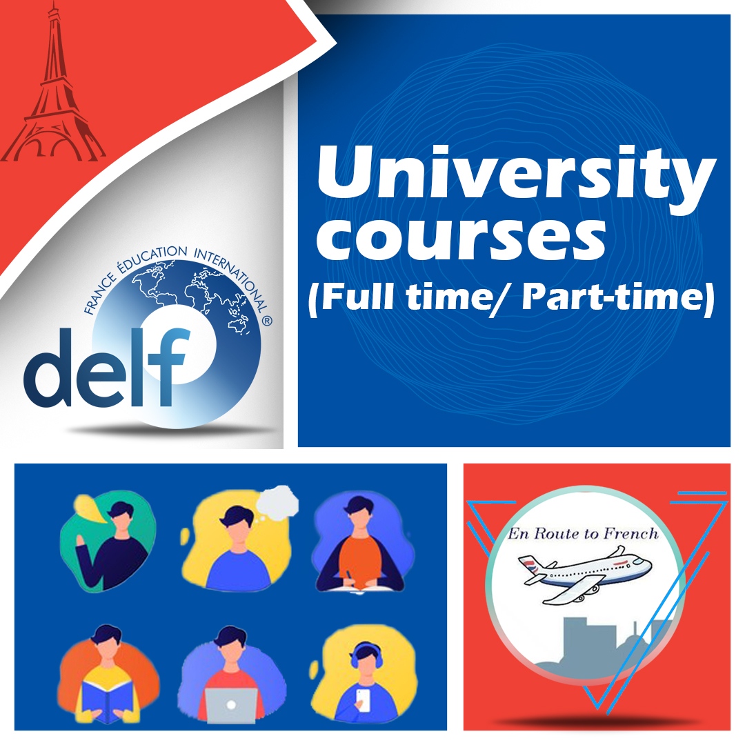 En Route to French - UNIVERSITY COURSES Banner