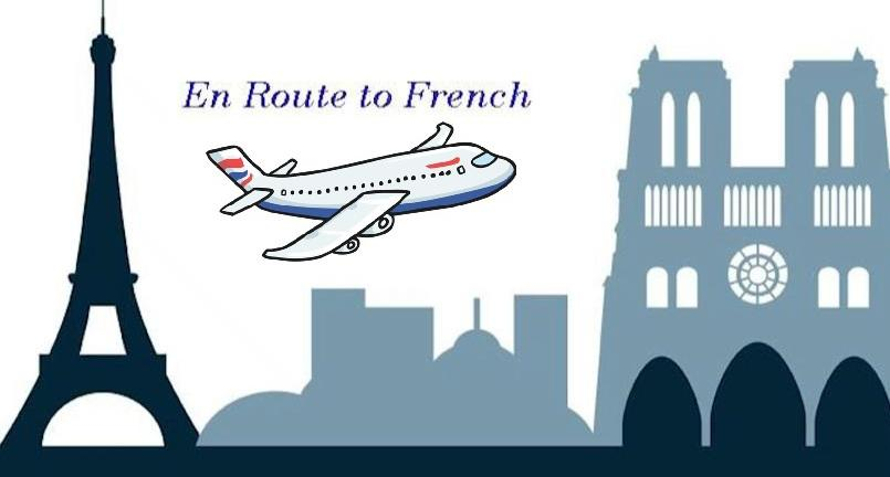 En Route To French- Logo