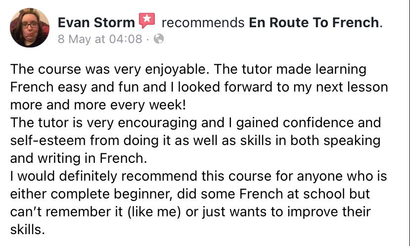 En Route To French - Review-Evan Storm