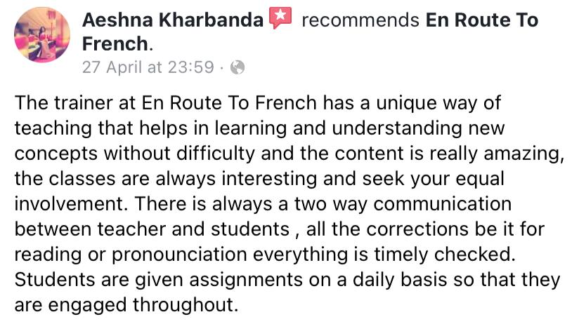 En Route To French - Review-Aeshna