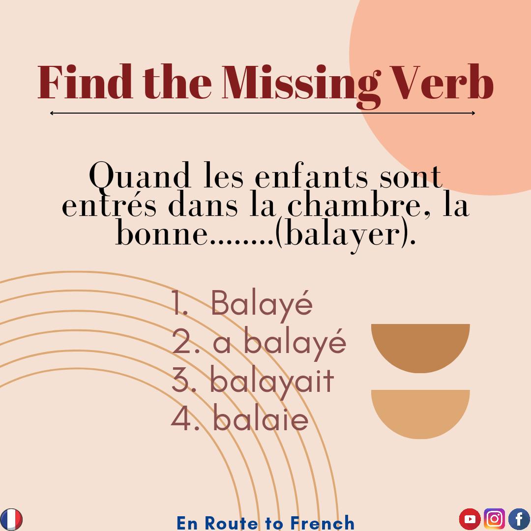 Missing Verb 8