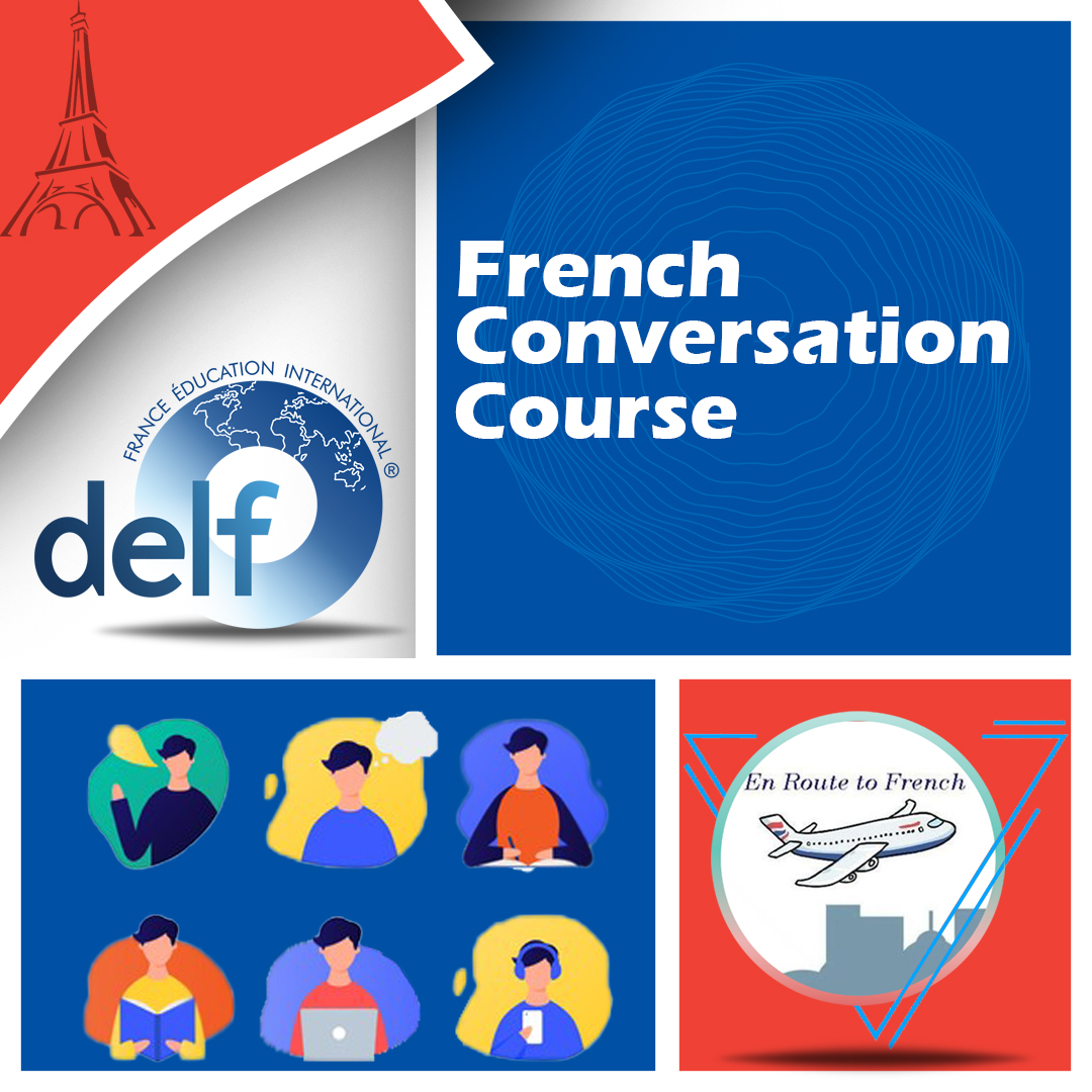 En Route to French - French Conversation Course Banner